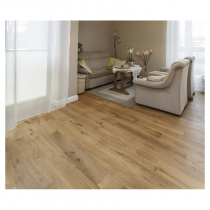 Rustic Country Oak Pre-Fin Engineered Floor  125x18mm  (1.20m2 pack)