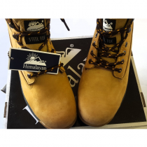 Wheat Nubuck Safety Boot Size 8