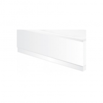 Belmont White 1700 Bath Panel