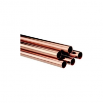 "Copper Pipe 1/2"" 3m Length"