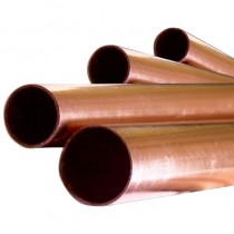 "Copper Pipe 3/4"" 3m Length"