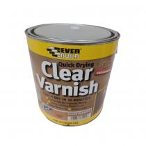 Clear Varnish Satin 2.5Ltr