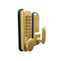 Digital Push Button Lock Brass