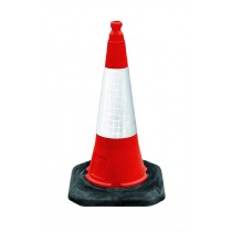 Dominator Motorway Cone 1m (c/w des 2 high visibility sleeve)