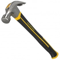 Faithfull  Fibre Glass Handled Claw Hammer 20oz