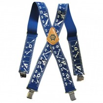 Faithfull Heavy-Duty Braces 2in - Blue
