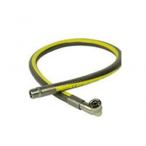 "Micropoint 1m x 1/2"" Universal Cooker Hose NG/LPG (Yellow)"