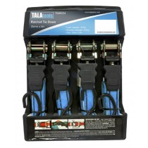 Ratchet Tie Down Set 4 Piece