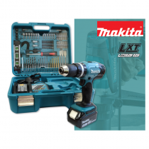 Makita DHP453SFTK Combi Kit With Accessories