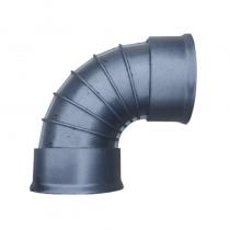 Twinwall Bend 150mm x 90D