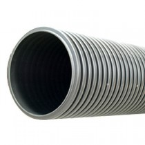 Twinwall Cable Ducting Grey (850n) 110/95mm x6Mtr incl Seal + Coupler