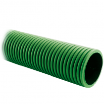 Twinwall Cable Ducting Green (450n) 110/95mm x6Mtr inc Coupler