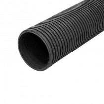 Twinwall Cable Ducting Black (450n) 110/95mmmm x6Mtr incl Coupler