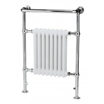 Cashel Traditional Towel Radiator 675mmx1032mm (Chrome/White)