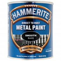 Hammerite Smooth Black 750ml