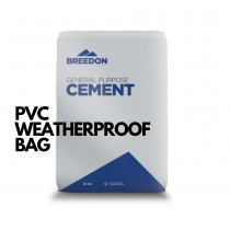 Breedon Cement PVC Weatherproof Bag 25kg