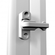 Window Locks (Sash Jammers) White