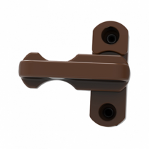 Window Locks (Sash Jammers) Brown