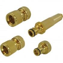 Faithfull Full Brass Nozzle & Fittings