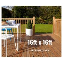 16 x 16 Deck Offer