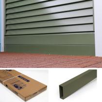 Smartfence Olive Green Plinth / Kicker Board  2 Pack   (150mm x 1.8Mtr x 2)