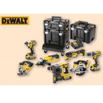 Dewalt   18 Volt  XR Compact 7 pc Kit  cw TSTAK case.