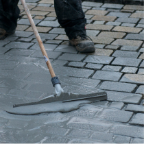 Paving Mortar Squeegee incl Handle