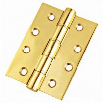 Butt Hinge 1 Hour Fire Rated 100x75x3mm Brass (pair)