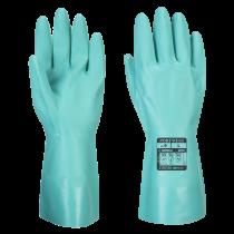 Portwest Nitrosafe Chemical Glove Green XLarge