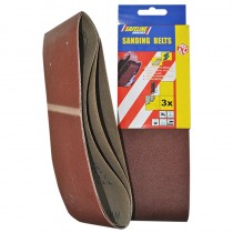 Sanding Belts 110x620mm 80Grit (3)