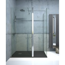 Aspect 1100mm Wetroom Panel - Chrome