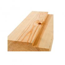 150 x 50mm Red Deal Door Frame - rebated for 10mm Intum Strip   (1/2 Hr Fire) Silkwood