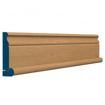 19X94 PreVarnished Solid White Oak Ogee Architrave (5/2.4m)