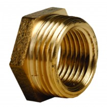 "042 1""x3/4"" Brass Reducing Bush MI x FI"
