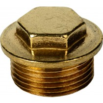 """074 1/2"""" M.I Brass Plug"""