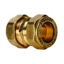 "Compression 310 3/4""  Straight Coupler CxC"