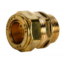 "Compression 311 3/4x1/2"" Straight Coupler M.I. x C"