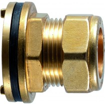 "Compression 350 1/2"" Flanged Tank Connector"
