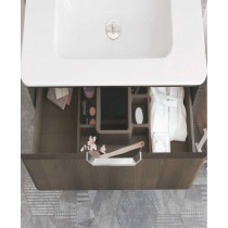 Lyon Gloss Grey 80 Vanity Unit