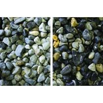 Decorative Stone 25kg - Blue / Grey Pebble 14mm