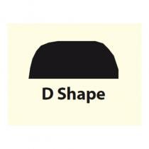 "D Shape 11/4"" 8ft Mahogany N-5"