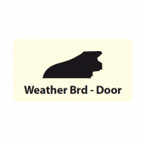 Weather Board Teak 3ft