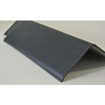 Ridge Tile 90 Deg 400mm Black