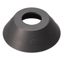 Black PVC Roofing Washer (Bag 100) (Drive Screw)