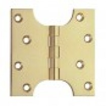 Parliament Hinge 100mmx100mm Brass (pair)