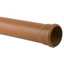 EN1401 SN4  Socketed Sewer Pipe 160mm x 6M