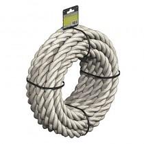 FM 3 Strand Polyhemp Rope 24mm x 8M