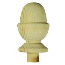 Burbidge Newel C/Acorn 119x76x76mm Pine