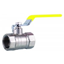 "1/2"" Lever Ballvalve Gas Fxf ( Yellow)"