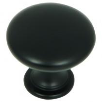 Cabinet Knob Hammered Black